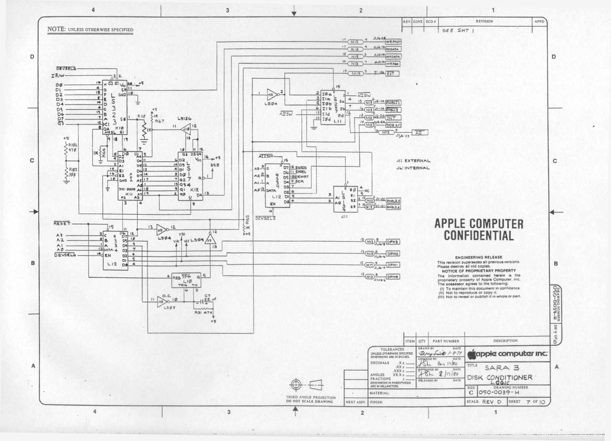 Disk Controller Logic apple 2 schematic readingrat net wiring diagram for apple tv at crackthecode.co