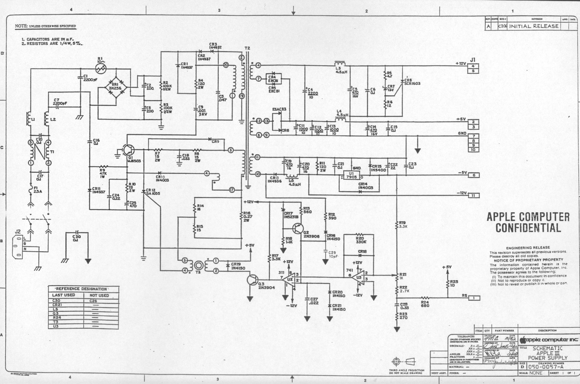 Apple iii schematic diagrams ccuart Choice Image